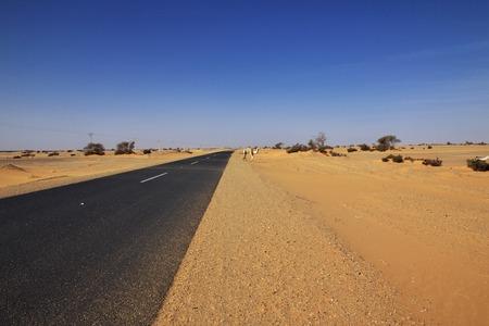 Sahara desert in Sudan, Africa