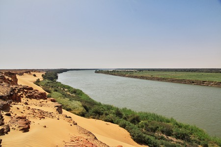 Old Dongola in Sudan, Africa