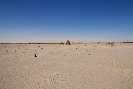 Ruins of ancient temple in Nubia