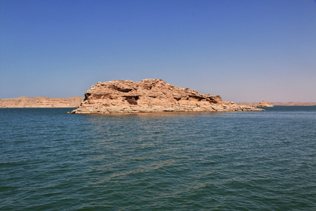 Nasser lake in Egypt, Africa