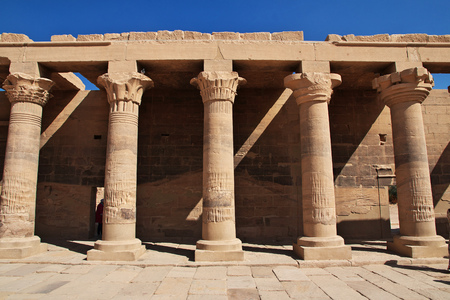 Temple of the Island of Philae, Egypt Reklamní fotografie - 122019433