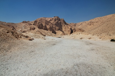 The ancient necropolis Valley of the Queens in Luxor, Egypt