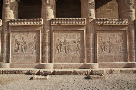 Ancient temple Hathor in Dendera, Egypt