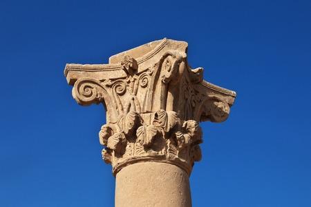 Ancient temple Hathor in Dendera, Egypt Reklamní fotografie - 122730081