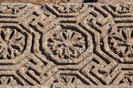 Roman ruins in El Minya, Egypt Stock fotó