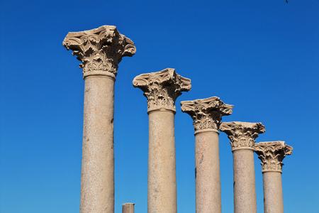 The Roman ruins in El Minya, Egypt