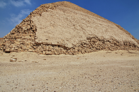 Pyramids in Dahshur, Sahara desert, Egypt Archivio Fotografico
