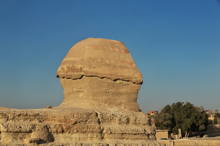 Great Sphinx in Cairo, Egypt Banque d'images - 124855800