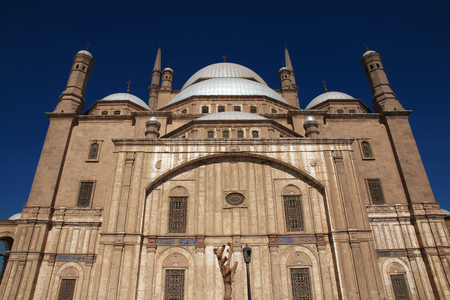 The ancient citadel in Cairo center, Egypt Stock Photo