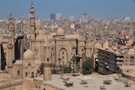 Mosque in Cairo, Egypt Stock fotó