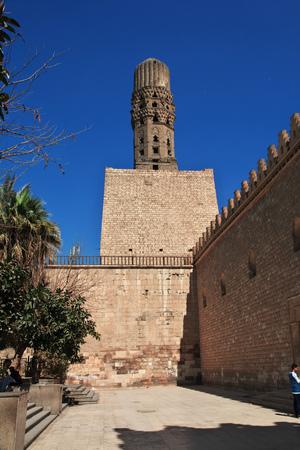 Minaret in arabish Cairo, Egypt Banque d'images - 122730288