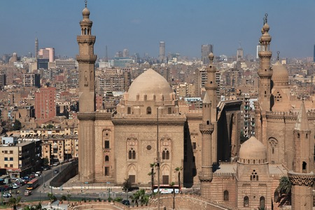 Meczet w Kairze, Egipt Zdjęcie Seryjne