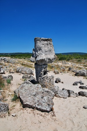Pobiti Kamani - stone forest, Bulgaria