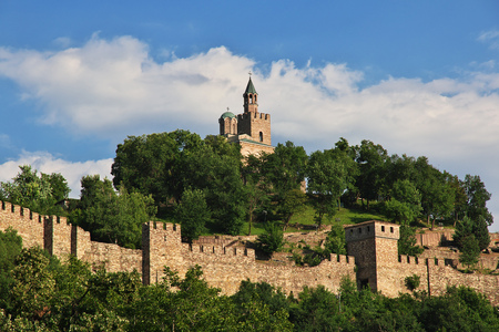 Veliko Tarnovo is city in Bulgaria 写真素材