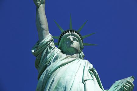 Estatua de la libertad en Nueva York, EE. UU.