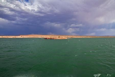 Lake Powell in Arizona, Paige, USA
