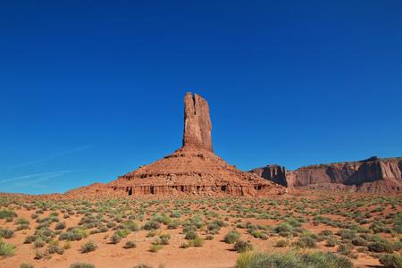 Monument Valley in Utah and Arizona 版權商用圖片