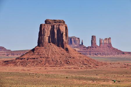 Monument Valley in Utah and Arizona Stockfoto