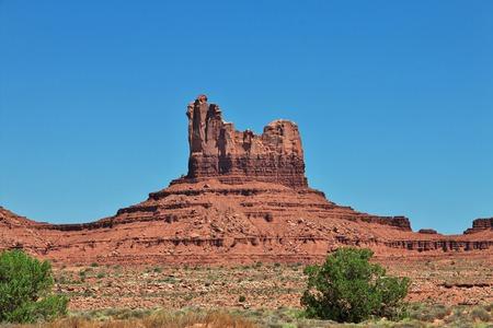 Monument Valley in Utah and Arizona Standard-Bild