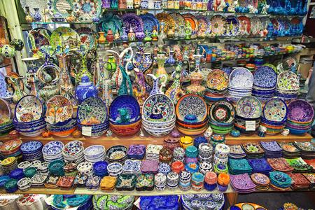 Grand Bazaar in Instanbul, Turkey