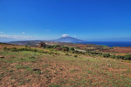 View on Mediterranean coast in Algeria, Africa