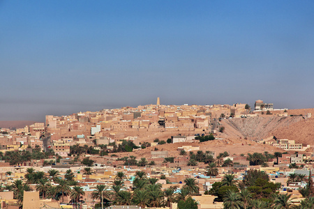 Ghardaia is city in Sahara desert, Algeria