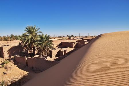 Timimun abandoned city in Sahara desert, Algeria