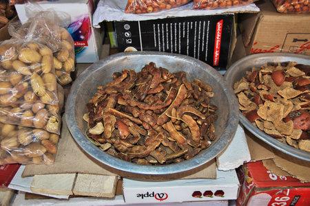 Khartoum, Sudan - 18 Feb 2017. Local market in Khartoum