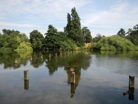 Hyde park in London city, England Reklamní fotografie