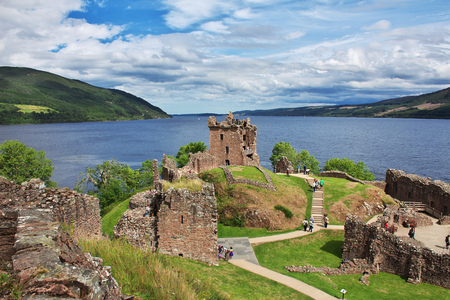 Lake Loch Ness in Scotland