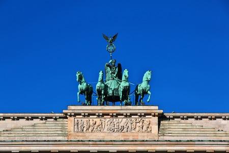 Berlin the capital of Germany Stock Photo