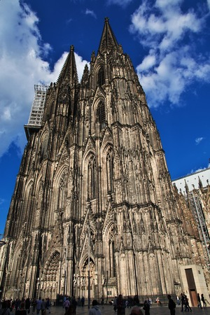 Ancient Cologne Cathedral in Germany