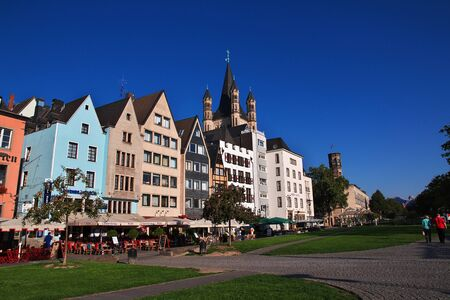 Cologne is an ancient city in Germany