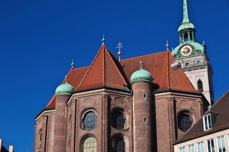 Church in Munich of Bavaria, Germany