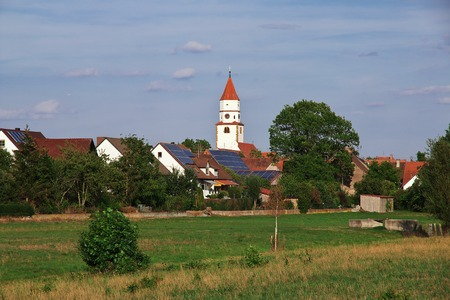 Land Bavaria in south of Germany 스톡 콘텐츠