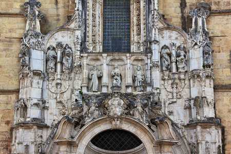 The church in Coimbra city, Portugal