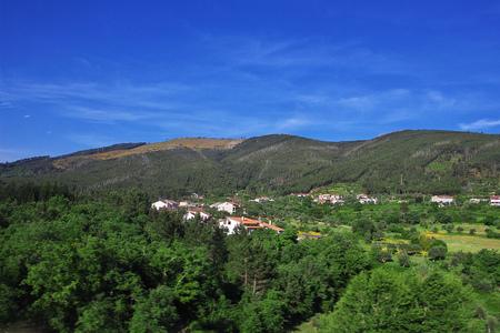 Hills and valleys in Portugal Zdjęcie Seryjne