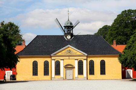 The mill in Copenhagen city, Denmark