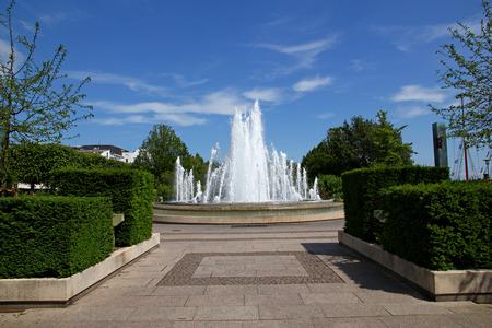Fountain in Copenhagen city, Denmark