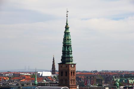 Church in Copenhagen city, Denmark Stock Photo