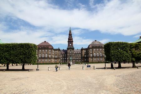 Town hall in Copenhagen city, Denmark