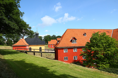 Castle in Copenhagen city, Denmark Stock Photo