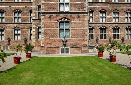 Palace in Copenhagen city, Denmark