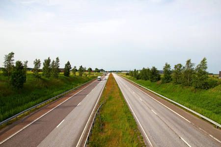 Road on nord of Denmark