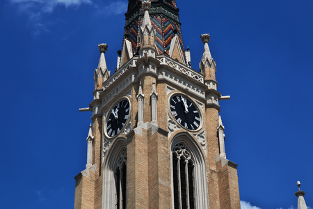 Church in Novi sad city, Serbia 免版税图像