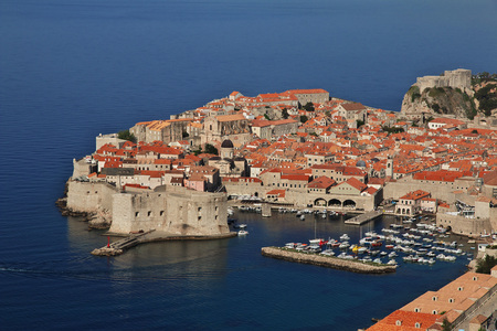 Dubrovnik city on the Adriatic sea, Croatia 스톡 콘텐츠