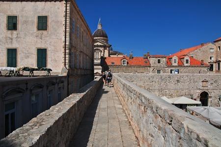 Dubrovnik city on the Adriatic sea, Croatia