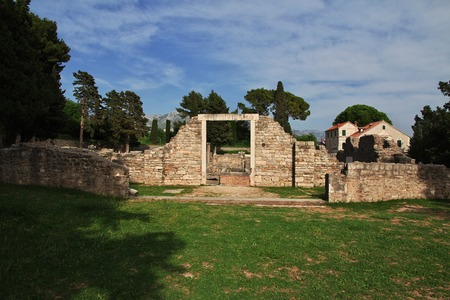 Ancient Roman ruins in Croatia, Balkan