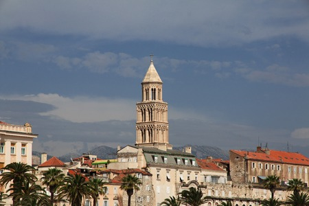 Split city on the Adriatic sea, Croatia