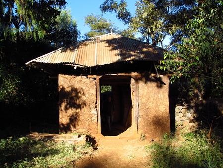 Ancient Orthodox Church in Ethiopia Imagens